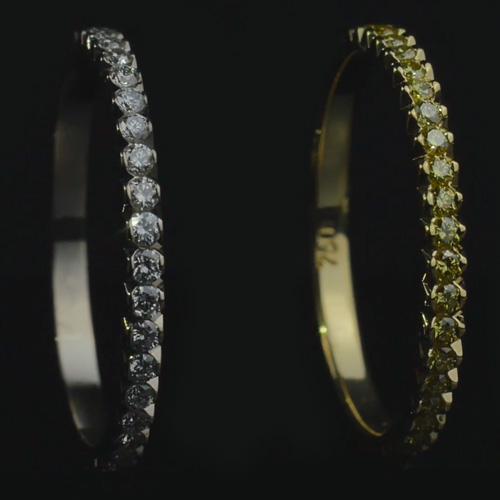 "Ring ""Crocodile's tail"""